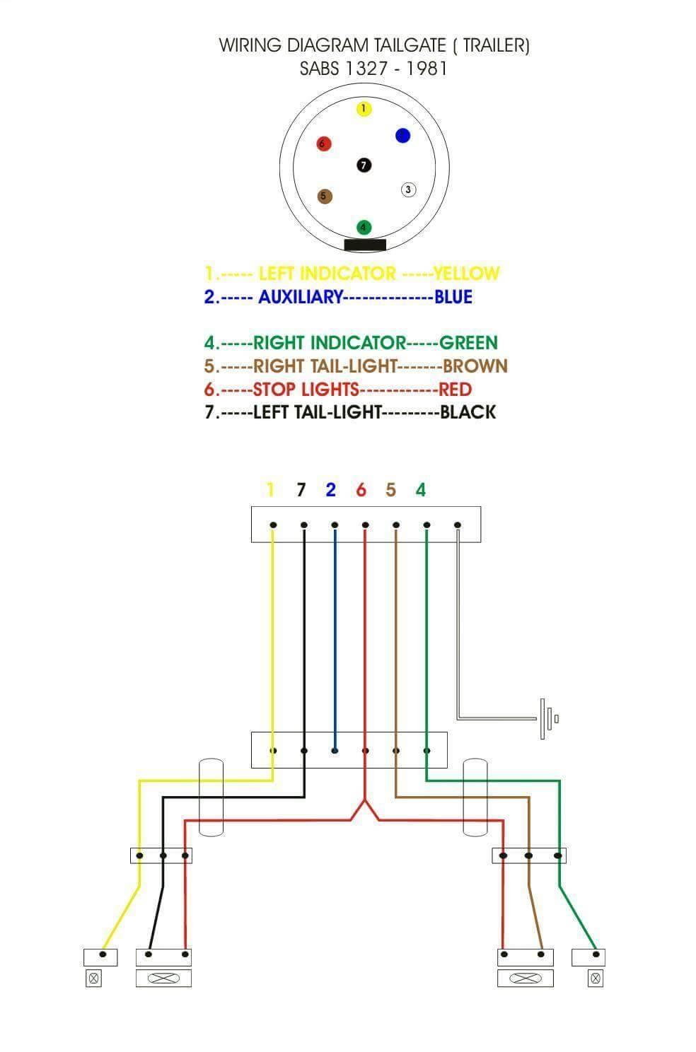 Tailgate Wiring Diagram